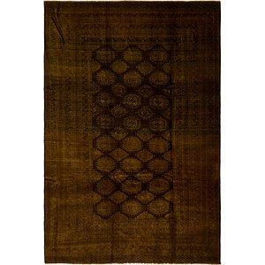 Unique Loom 8' 2 x 12' 2 Afghan Akhche Oriental ...