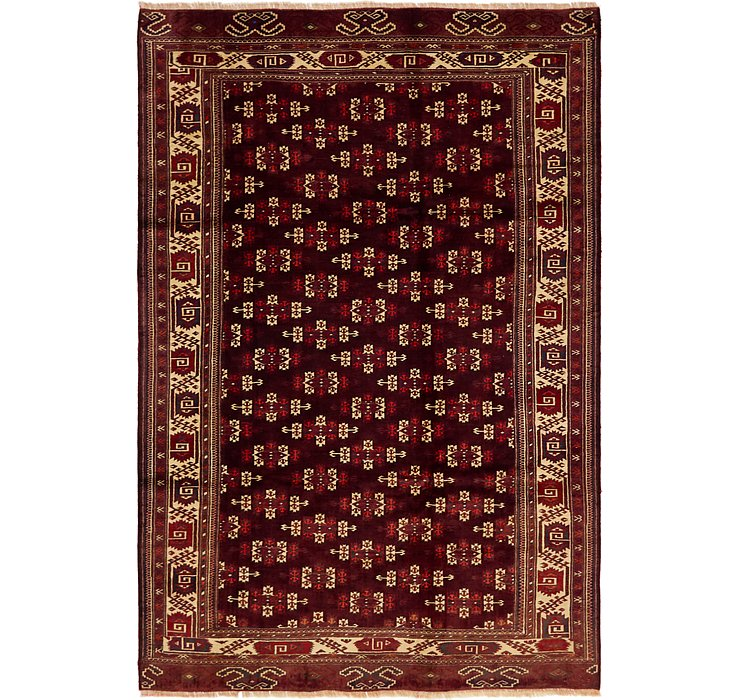 208cm x 310cm Bokhara Oriental Rug