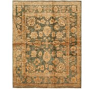 Link to 195cm x 245cm Over-Dyed Ziegler Rug