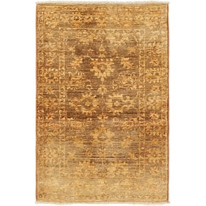HandKnotted 2' x 3' Over-Dyed Ziegler Rug