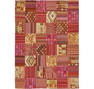 Link to 8' x 11' Kilim Patchwork Rug