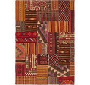 Link to 8' 2 x 11' 8 Kilim Patchwork Rug