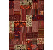Link to 8' x 11' 5 Kilim Patchwork Rug