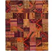Link to 8' x 9' 7 Kilim Patchwork Rug