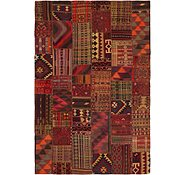 Link to 6' 4 x 9' 7 Kilim Patchwork Rug
