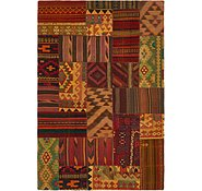Link to 6' 5 x 10' Kilim Patchwork Rug