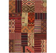 Link to 7' x 9' 10 Kilim Patchwork Rug