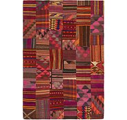 Link to 6' 9 x 10' Kilim Patchwork Rug