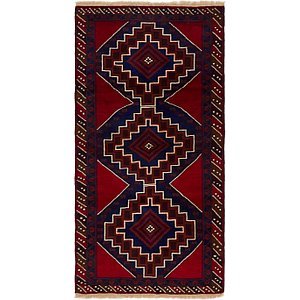 Unique Loom 3' 6 x 6' 9 Balouch Persian Rug
