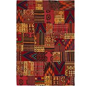 Link to 6' 8 x 9' 9 Kilim Patchwork Rug