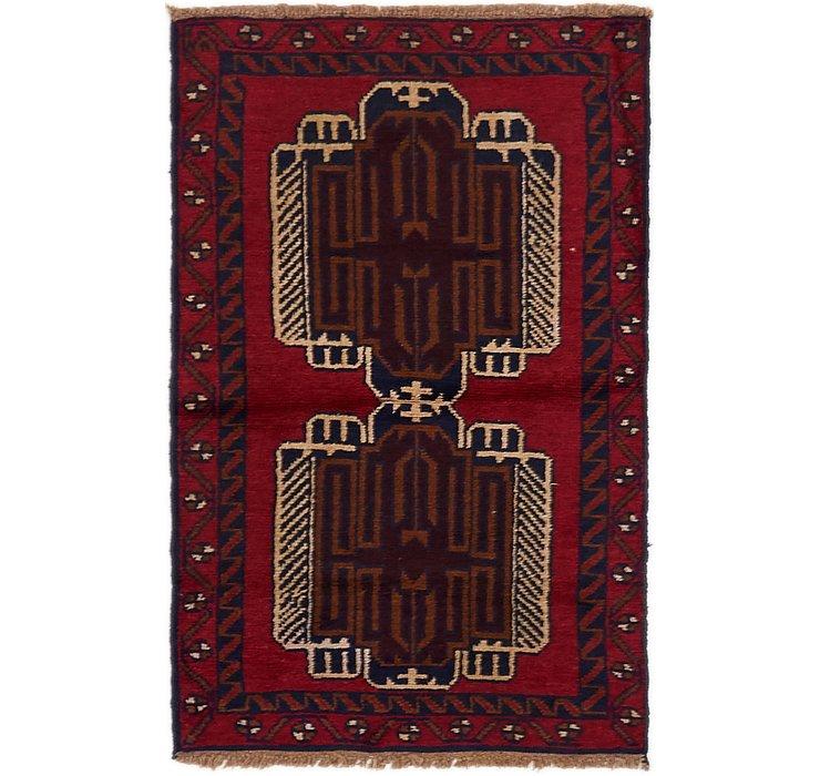 2' 8 x 4' 7 Balouch Persian Rug