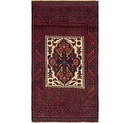 Link to 3' 10 x 5' 3 Balouch Persian Rug