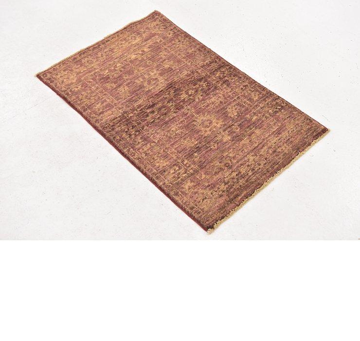 60cm x 90cm Over-Dyed Ziegler Rug
