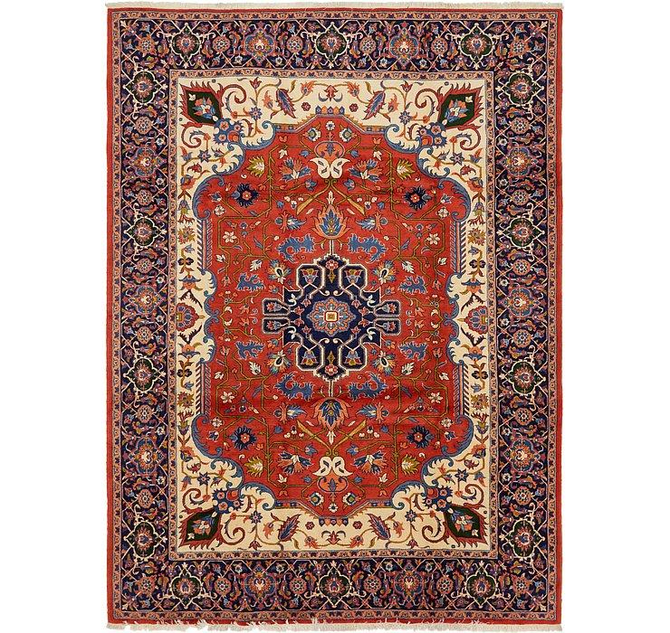 267cm x 370cm Varamin Persian Rug
