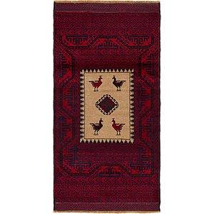2' 10 x 5' 6 Balouch Persian Rug