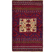 Link to 3' 3 x 5' 4 Balouch Persian Rug