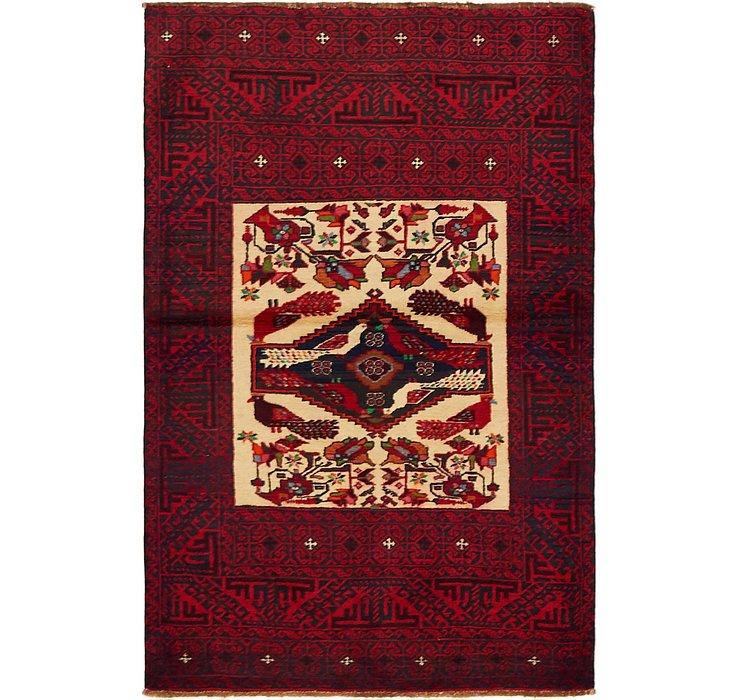 3' 3 x 5' Balouch Persian Rug