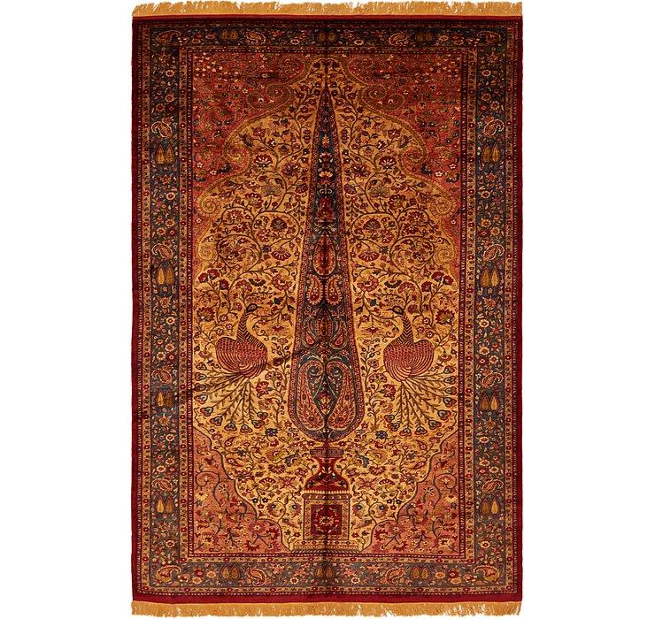 6' 9 x 10' 1 Kashan Persian Rug