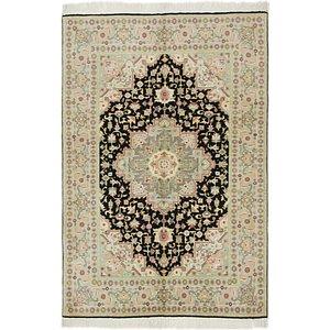 3' 3 x 4' 10 Tabriz Persian Rug