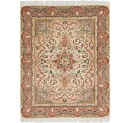 Link to 5' x 6' 3 Tabriz Persian Square Rug