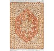 Link to 5' x 6' 10 Tabriz Persian Rug