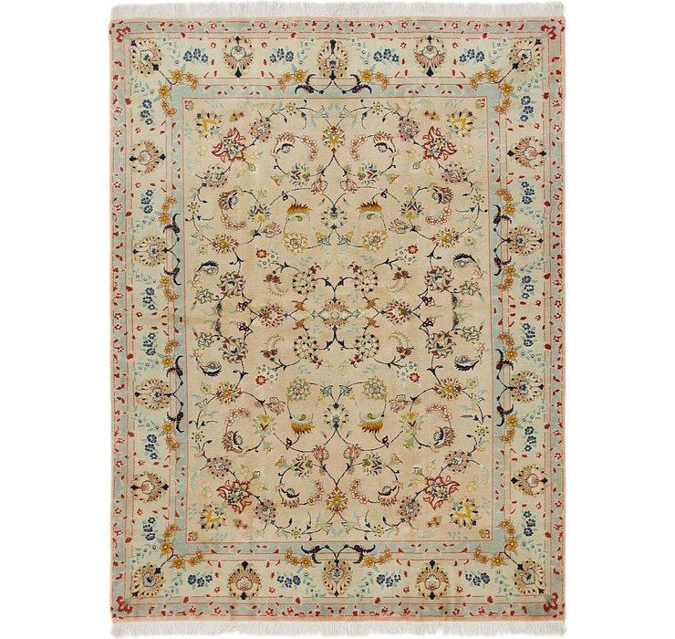 4' 10 x 6' 6 Tabriz Persian Rug