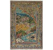 Link to 127cm x 190cm Kashan Persian Rug