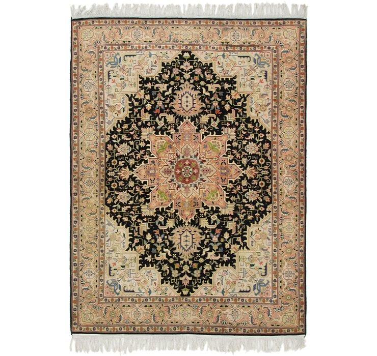 4' 9 x 6' 6 Tabriz Persian Rug