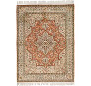 Link to 5' x 6' 8 Tabriz Persian Rug