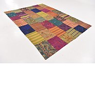 Link to 7' x 9' 7 Kilim Patchwork Rug