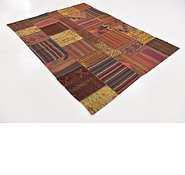 Link to 5' 10 x 7' 10 Kilim Patchwork Rug