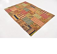 Link to 4' 10 x 6' 8 Kilim Patchwork Rug