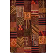 Link to 6' 7 x 9' 10 Kilim Patchwork Rug