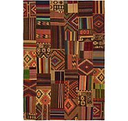 Link to 6' 6 x 9' 6 Kilim Patchwork Rug