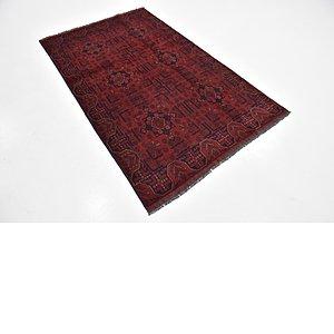 HandKnotted 4' x 6' 6 Khal Mohammadi Rug