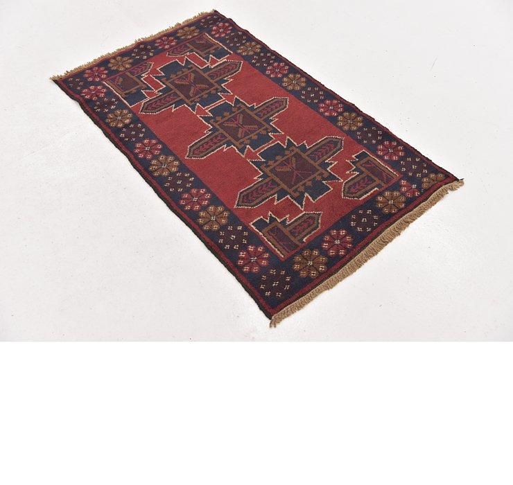 80cm x 137cm Balouch Persian Rug