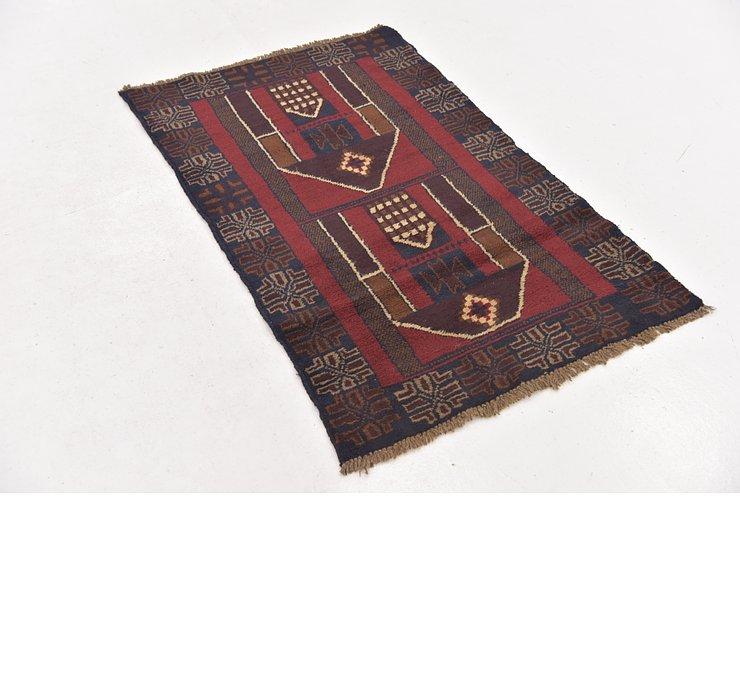 85cm x 135cm Balouch Persian Rug