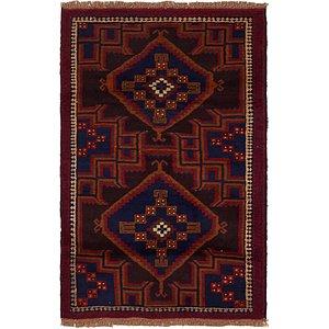Unique Loom 2' 9 x 4' 7 Balouch Persian Rug