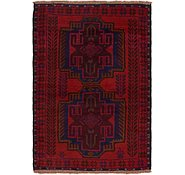 Link to 3' 2 x 4' 4 Balouch Persian Rug