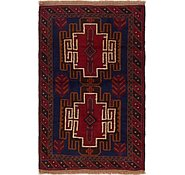 Link to 90cm x 140cm Balouch Persian Rug