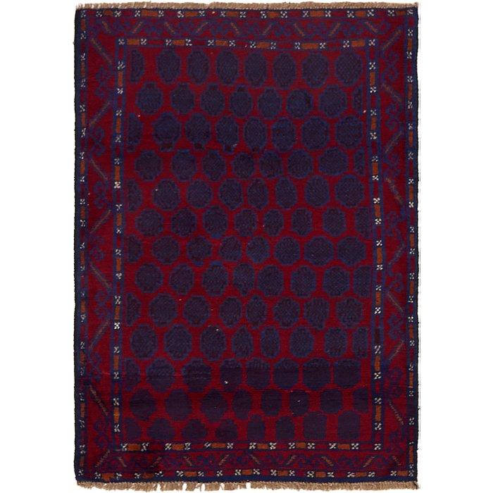 3' 2 x 4' 6 Balouch Persian Rug