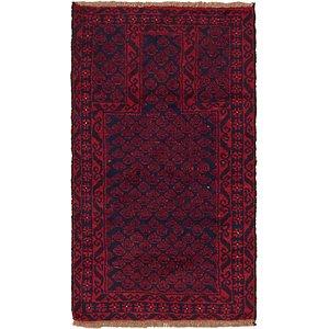 2' 9 x 4' 10 Balouch Persian Rug