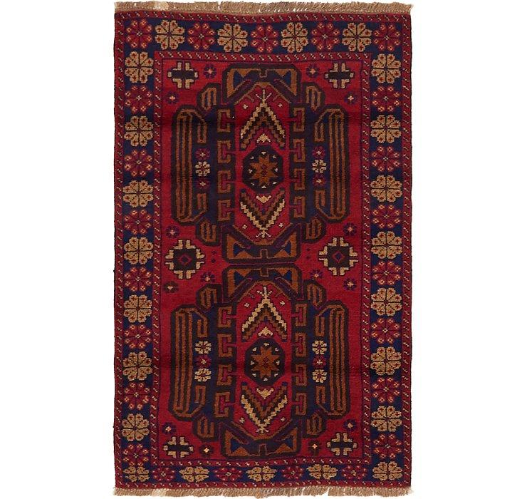 2' 10 x 4' 8 Balouch Persian Rug