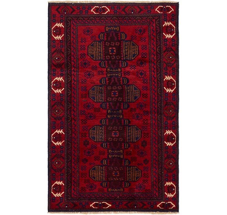 3' 7 x 6' Balouch Persian Rug