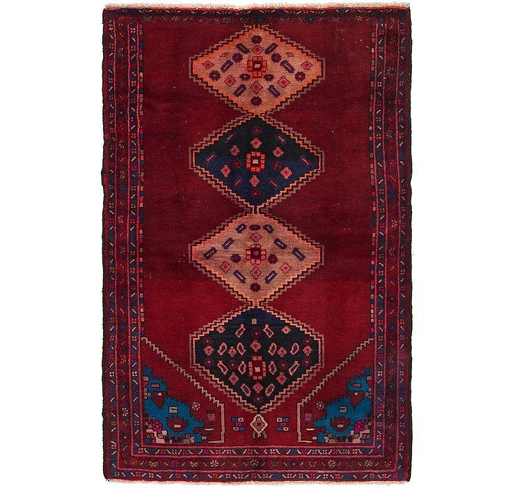 4' x 6' 3 Hamedan Persian Rug