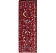 Link to 3' 3 x 10' Gharajeh Persian Runner Rug