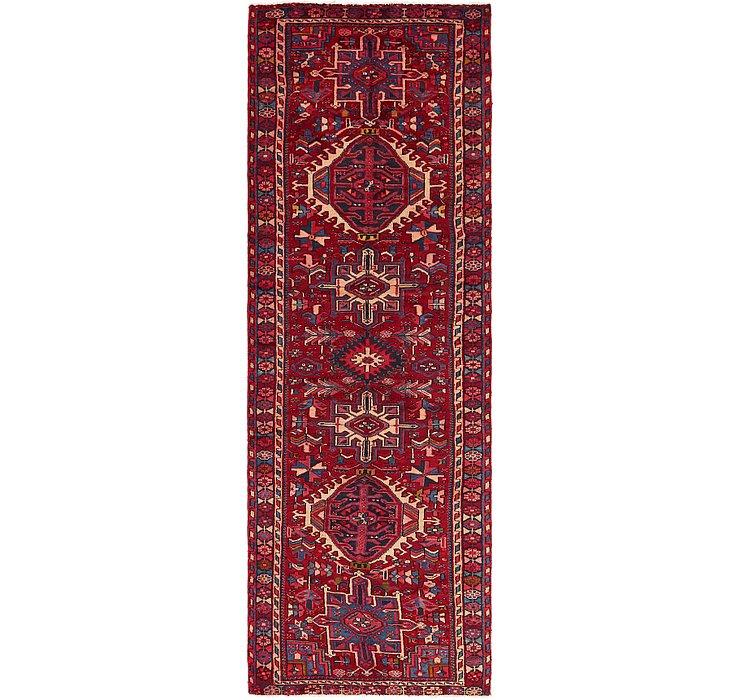 3' 3 x 10' Karaja Persian Runner Rug