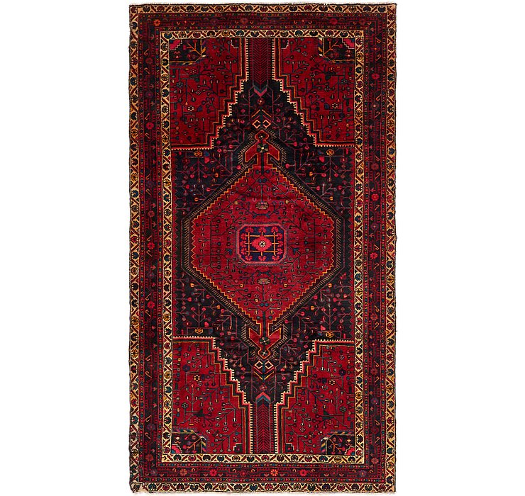 5' x 9' 3 Tuiserkan Persian Rug