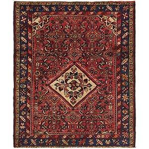 4' 5 x 5' 5 Hossainabad Persian Squ...