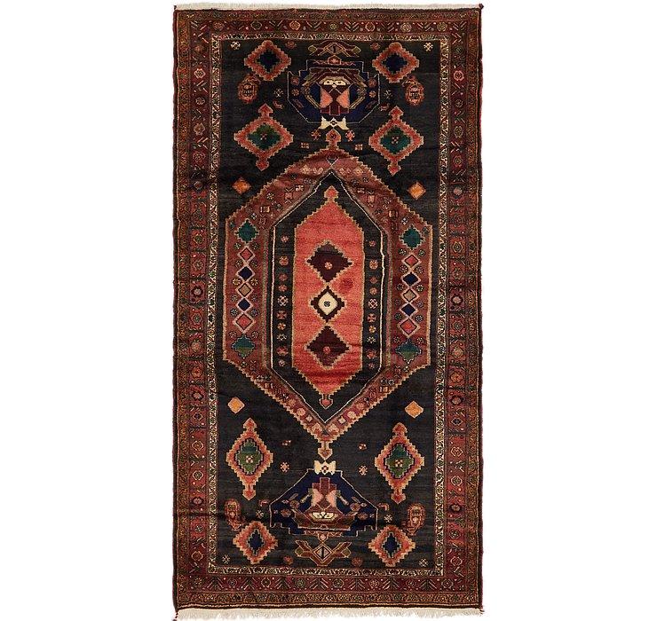 4' 10 x 10' 9 Zanjan Persian Runner Rug